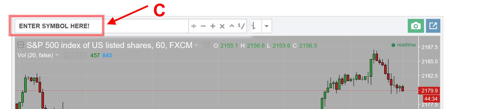 Trading View Dynamic Chart
